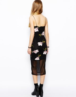 Asos Cami Dress in Orchid Print