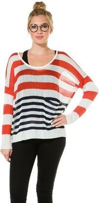 Swell Poppy Stripe Sweater