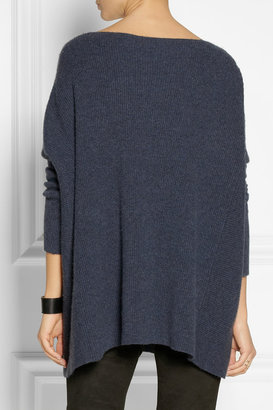 Donna Karan Ribbed cashmere sweater