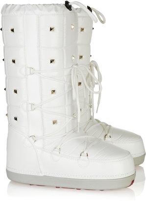Valentino Studded snow boots