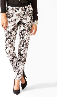 Forever 21 Floral Print Pants