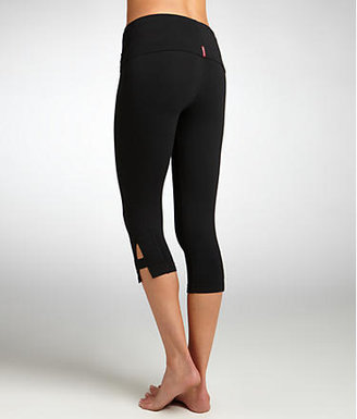 Hard Tail Side Slinger Cropped Pants with Rolldown Waistband Activewear
