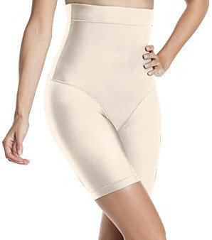 Nearly Nude Nearly NudeTM Thinvisible Microfiber Firming High Waist Thigh Slimmer
