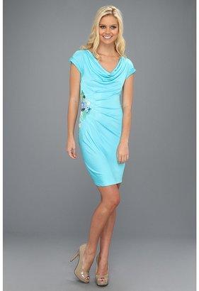 Catherine Malandrino Dress w/ Side Embroidery (Breeze) - Apparel