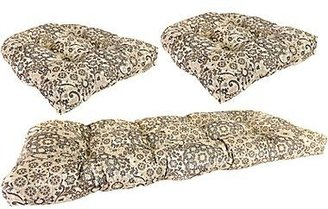 JCPenney 3-pc. Wicker Cushion Set