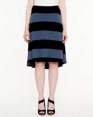 Le Château Jersey High-Low Hem Skirt