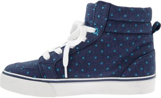 Old Navy Girls Polka-Dot Jersey High-Tops