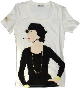 Chanel London Denim Pixel t shirt size L