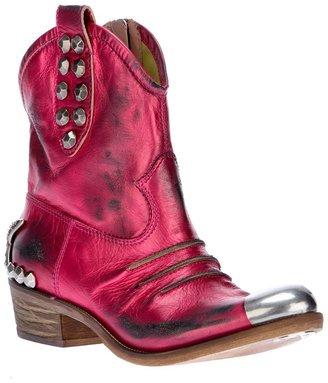 Baldan studded cowboy boot