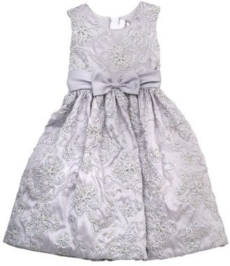 Rare Editions Girls 2-6x Soutach Dress