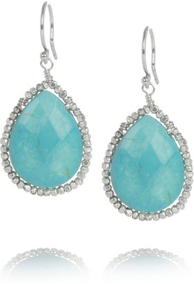 Chan Luu Silver and turquoise earrings