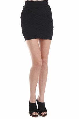 A.L.C. Basket Weave Skirt