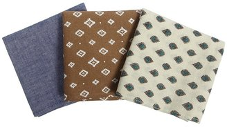 AllSaints Tokai Pocket Square Set