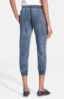 Current/Elliott 'The Slim Vintage' Cropped Sweatpants