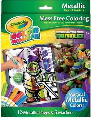Crayola Teenage Mutant Ninja Turtles Color Wonder Metallic Set by