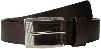 Stacy Adams Men's 35 Mm Full Grain Buffalo Leather Brown Belt 40