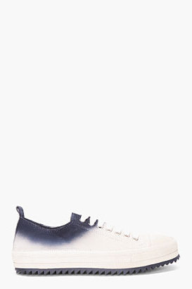 Ann Demeulemeester Taupe Ombre Sneakers