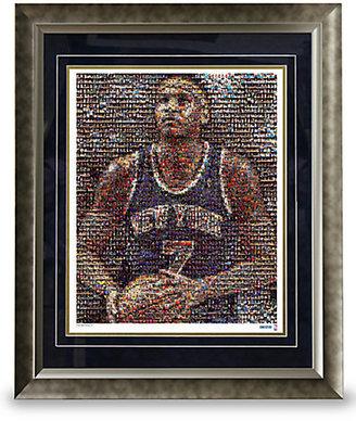 Steiner Sports Framed Carmelo Anthony Mosaic