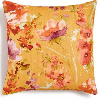 Hallmart Collectibles Coral Floral-Print Textured 18