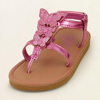 Calypso butterfly sandal