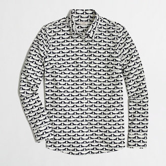 J.Crew Factory Factory patterned oxford button-down shirt