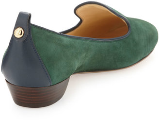 Vince Camuto Signature Nova Suede Slip-On, Emerald