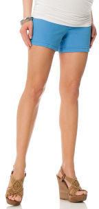 Motherhood Indigo Blue Secret Fit Belly® 5 Pocket Maternity Shorts
