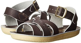 Salt Water Sandal by Hoy Shoes Sun-San - Swimmer (Toddler/Little Kid) (Brown) Kids Shoes
