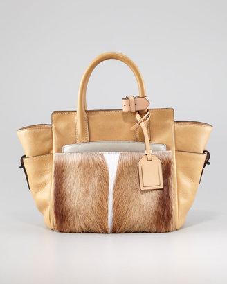 Reed Krakoff Atlantique Mini Fur/Leather Tote Bag, Spring