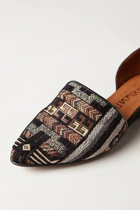 Anthropologie 67 Collection Tapestry D'Orsay Flats