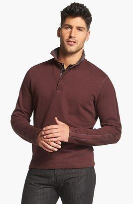 HUGO BOSS 'Piceno' Regular Fit Long Sleeve Pullover