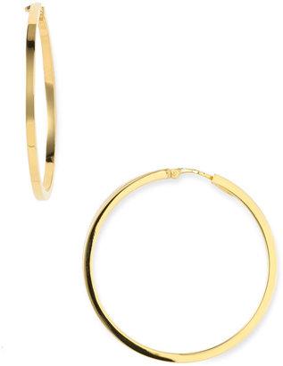 Charles Garnier 'Perfect Hoop' 40mm Flat Hoop Earrings