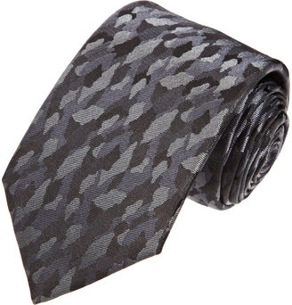 Lanvin Camouflage Tie