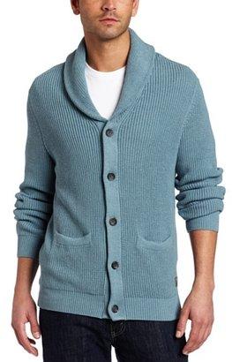 Ben Sherman Men's Long Sleeve Shawl Collar Cardigan Sweater