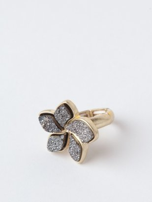 Druzy Flower Ring by Lori's Shoes