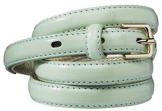Merona Skinny Belt - Mint Green