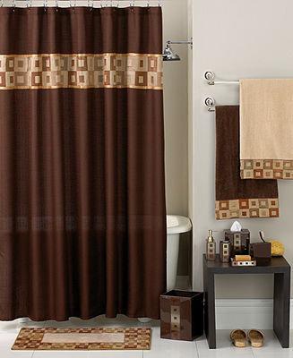 Avanti Bath Accessories, Precision Shower Curtain
