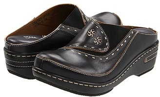 Spring Step L'Artiste by Chino (Black) Women's Clog Shoes