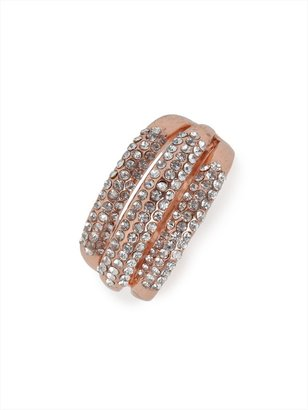 BaubleBar Rose Ripple Ring