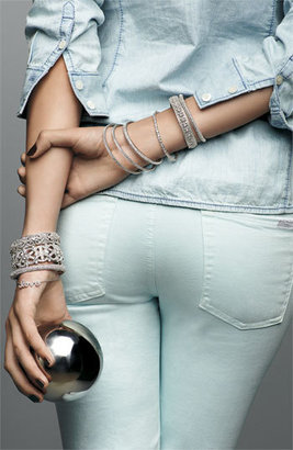 Nadri Crystal Scallop Bangle