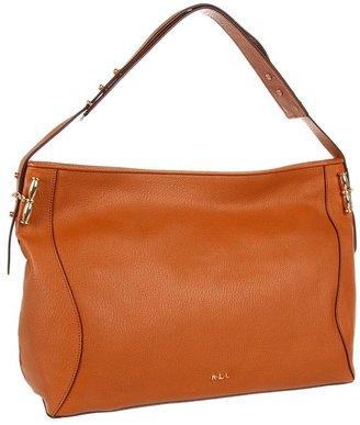 Lauren Ralph Lauren Amalfi E/W Shoulder Bag (Lauren Tan) - Bags and Luggage