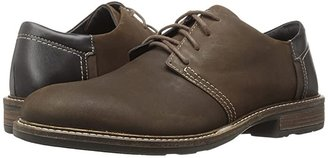 Naot Footwear Chief (Oily Brown Nubuck/French Roast Leather/Hazelnut Leather) Men's Lace up casual Shoes