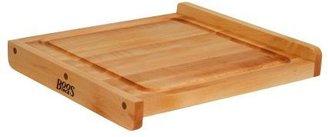 """John Boos & Co.® Maple Edge-Grain Countertop Cutting Board with Juice Groove, 233⁄4"""" x 233⁄4"""" x 11⁄4"""""""