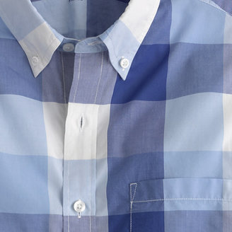 J.Crew Slim lightweight shirt in regal blue gingham