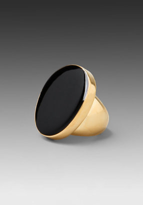 Kenneth Jay Lane Gold Ring