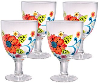 Laurie Gates isabella 4-pc. ice beverage glass set