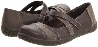 Orthaheel VIONIC with Technology - Carey Casual Flat (Chocolate) - Footwear