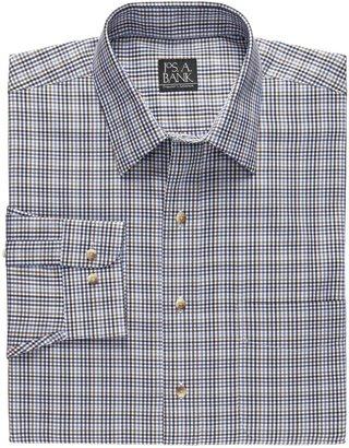Jos. A. Bank Traveler Tailored Fit Poplin Point Collar Sportshirt
