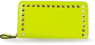Valentino Garavani 'Rockstud' zip around wallet