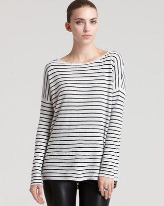 Vince Sweater - Shirttail Stripe Cashmere